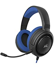Corsair HS35 - Stereo Gaming Headset - Memory Foam Earcups - Headphones Work with PC Blue