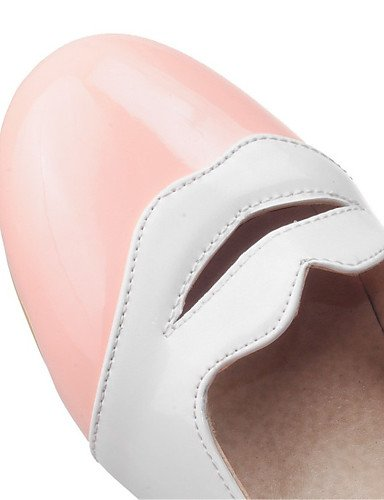 pink negro carrera talón rosa mujer amarillo oficina Flats charol us5 uk3 5 y cn35 vestido zapatos comodidad plano de eu36 de 5 PDX casual qXTP66