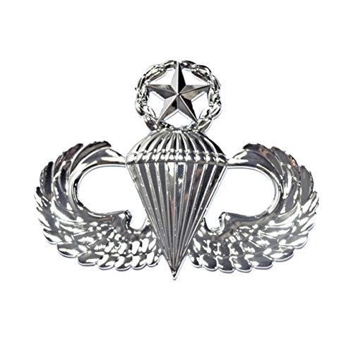 Master Parachutist Metal Auto Emblem ()