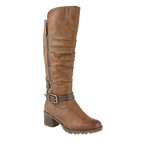 Brocket Botas Lotus Lt Mujer tan Marrón Para Altas dF5fqa