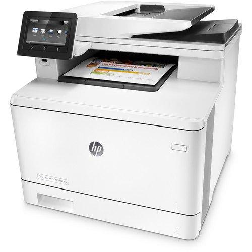 HP Laserjet Pro M477fnw Multifunction Wireless Color Laser Printer with Built-in Ethernet (CF377A) (Renewed)