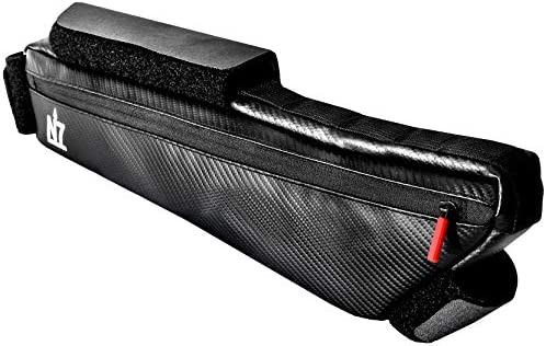 Northseven 3L Carbon XL Frame Bag - 100% Waterproof & Lightweight for  Bikepacking | Adjustable Non-Scratch Velcro Design for MTB and Road Cycling