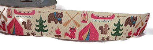 Camping Ribbon for these Fun Camping Wrapping Paper And Creative Gift Wrap Ideas