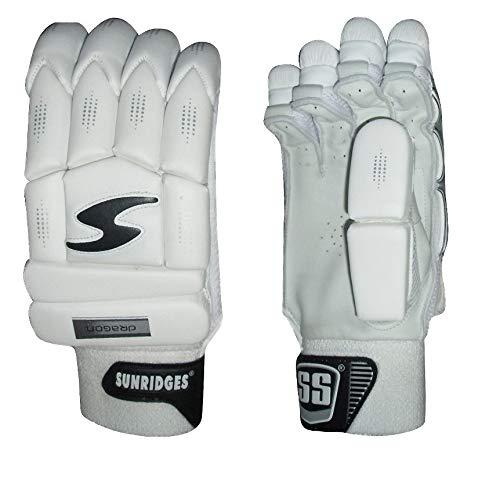 SS Cricket Dragon Premium Batting Gloves' Men's 2018 Edition (Right Handed)