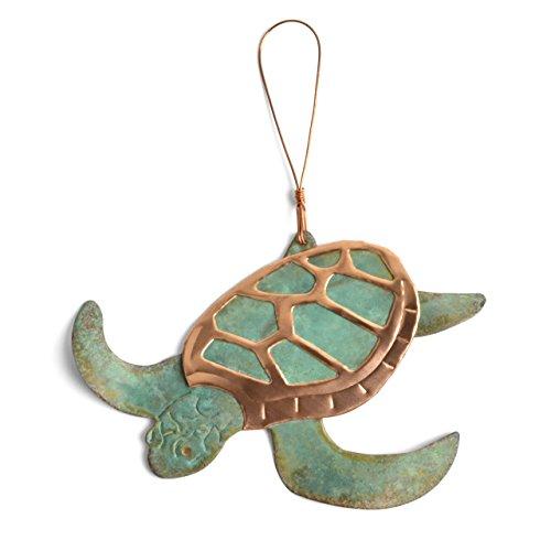 Dos Damas Designs Sea Turtle Copper Ornament