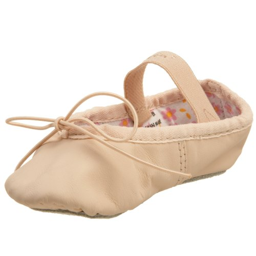 Capezio 205C Pink Leather Ballet Daisy Narrow 12.5s UK 12.5s US