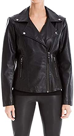 Max Studio womens Faux Leather Jacket