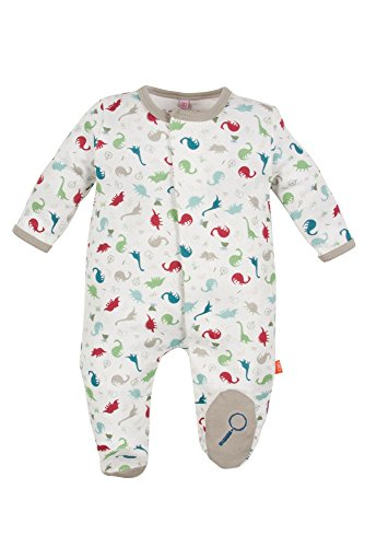 Magnificent Baby Baby Boys' Footie, Dino Explorer, 3 Months
