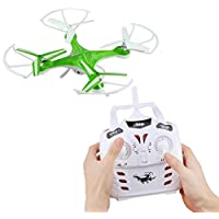 Model Helicopters New quadcopter rtf carbon fiber 2.4G 4CH 6-Axis Gyro R/C Quadcopter RTF Drone with RC HD 2.0MP Camera quadcopter rtf racing Green