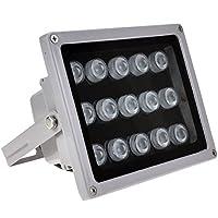 VIKYLIN IR Illuminator 850nm 15 PCS Leds 60 Degrees Wide Angle IP67 for CCTV Security Camera