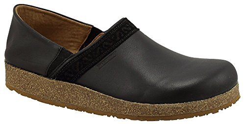 Clogs Leather Cork (Stegmann Women's Leather Eiger Clog with Cork Sole)