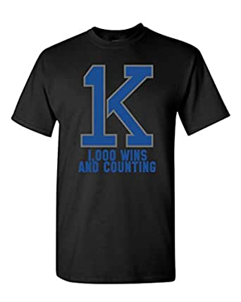 Amazon.com: 1K Coach K Bold Wins And Counting Basketball DT Adult ...