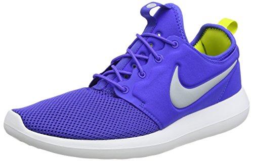 Nike Grau Weiß Elektrolime Homme Running de Bleu 40 Blau Wolf Rouge Entrainement Two Paramount Roshe EU Chaussures rw6ZqA4r