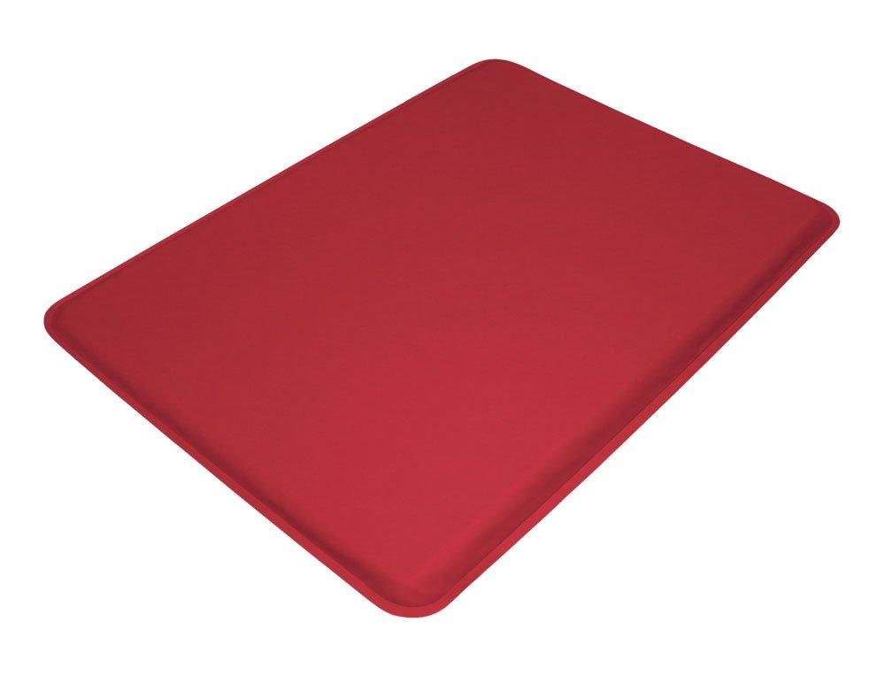 "GelPro Medical Anti-Fatigue Mat: Standing Anti-Fatigue Floor Mat - Non Slip Heavy Duty Professional Mats - Ergonomic Cushioned Comfort Pad - 18"" x 24"" - DND Red"