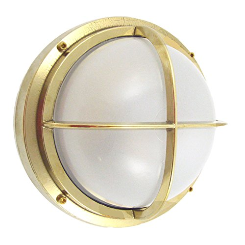 Brass Bulkhead Outdoor Lighting in US - 5