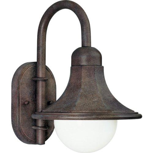 Progress Lighting P5654-33 Wall Mounted Lantern, Cobblestone (Transitional Cobblestone)