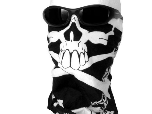 Bastart Skull Face Bandana - Dark Ride