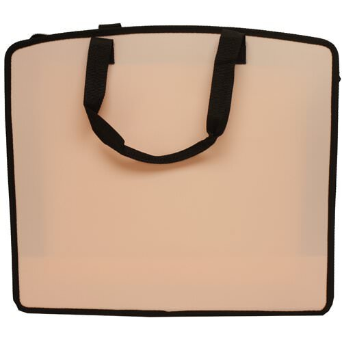 JAM Paper - Art Portfolio Case (15 x 18 x 3) - Baby Pink - Sold individually by JAM Paper (Image #2)