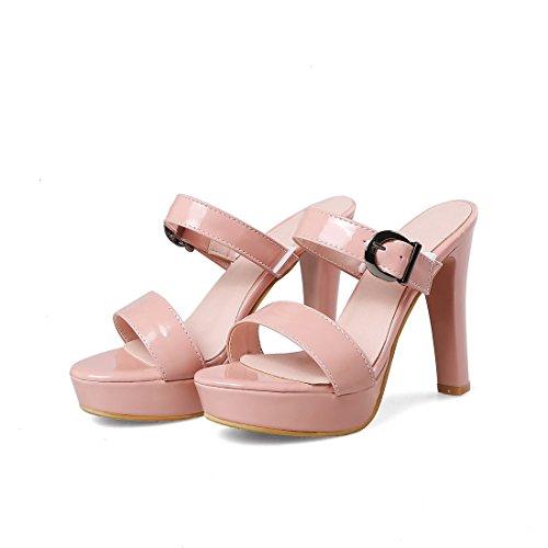 sandali tacchi tavola sandali sandali a allacciati sandali rosa i signore moda 32 i super w8Xqtz5Tx