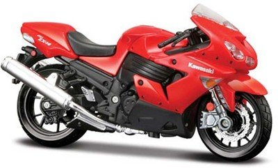 Buy Maisto 1 18 Kawasaki Ninja Zx 14r Diecast Scale Model Bike Red