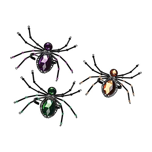 GALLERIE II Jeweled Spider Halloween Bracelet A/3]()