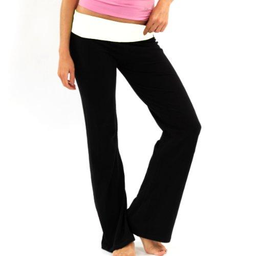 New Fitness Balance Pant (New Balance Women's Athletic Lounge Pant, White, Small)