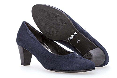 Gabor 86.170.16, Scarpe col tacco donna Blu River