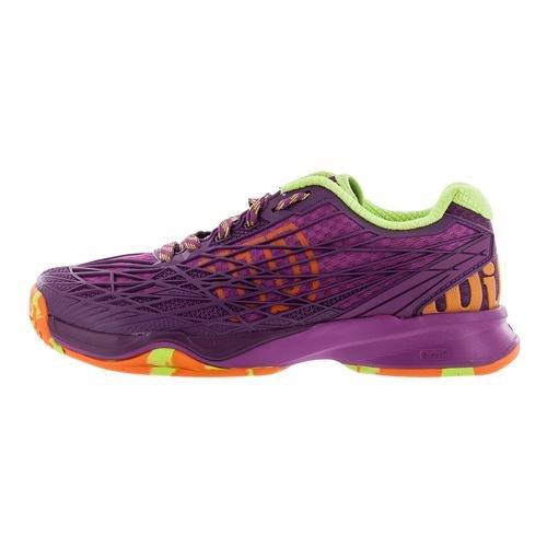 Wilson Kaos Womens Tennis Shoe Rosa / Dark Plumberry / Verde