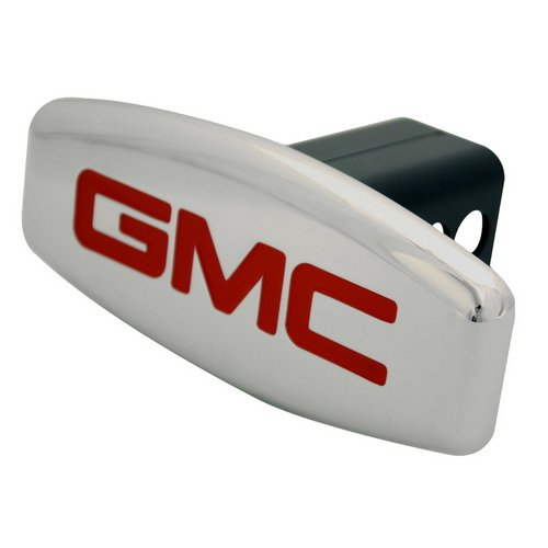 GMC Hitch Cover licensed Auto Logo Trailer Tow Hitch Covers Made by Stainless Steel