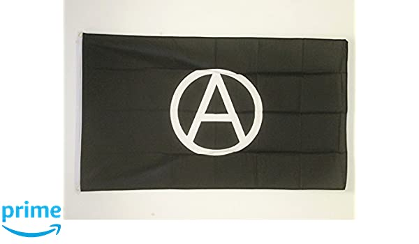 ANARCHY BLACK AND RED FLAG 2/' x 3/' BANNE ARNACHISM MOVEMENT FLAGS 60 x 90 cm