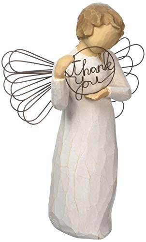 Willow Tree hand-painted sculpted angel,  Just for