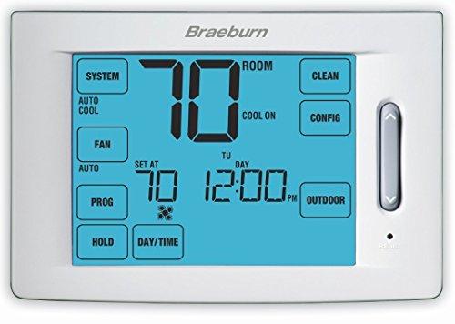 BRAEBURN 6300 Thermostat, Touchscreen Hybrid Universal 7, 5-