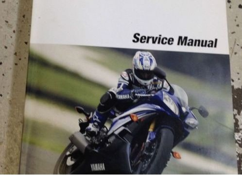 yamaha r6 service manual - 8