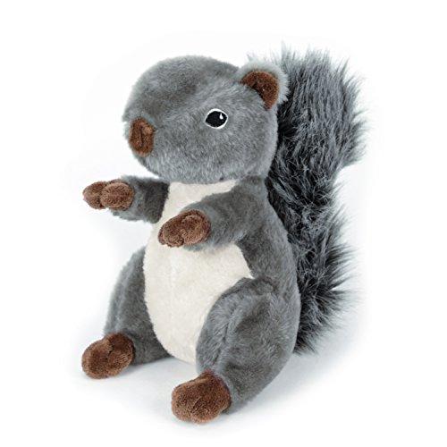 Martha Stewart Squirrel Plush Dog Toy for Gentle Play For Sale