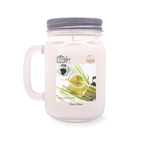 Country Jar Green Tea and Lemongrass Soy Candle (14.5 oz. Mason Jar) Spring Pick-3 Sale! See Details.