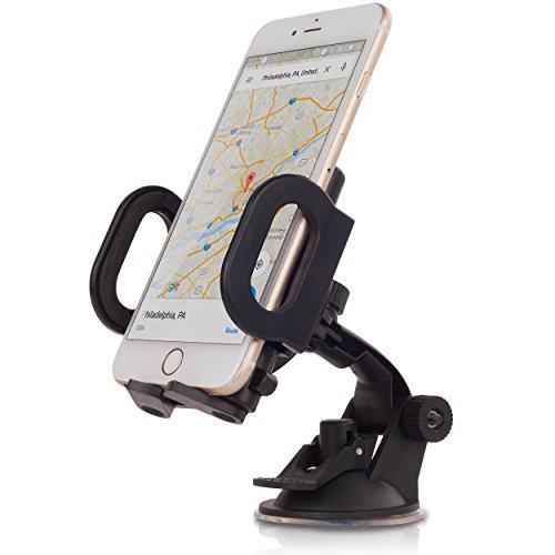 Shego Universal 360 Rotation Cell Phones Holder - Black