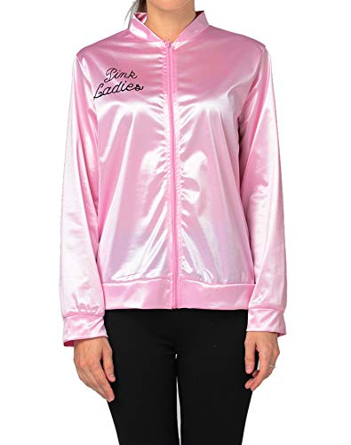 Vintageplace23 50's Pink Lady Jacket Costume Fancy Dress with Rhinestone