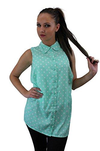 Girl Talk Clothing New Look Plus Size Polka Dot Blouse