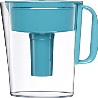 Brita Small 5 Cup Metro Water Pitcher with Filter BPA Free (Turquoise)