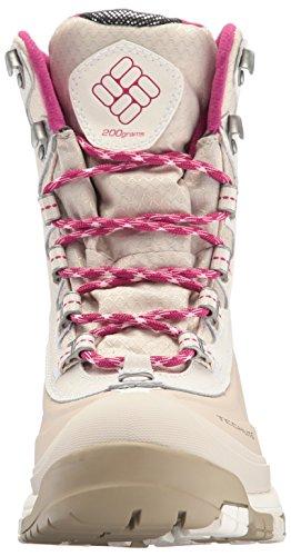 Columbia Women's Bugaboot Plus Omni-Heat Michelin Snow Boot, Sea Salt, Deep Blush, 9 B US by Columbia (Image #4)
