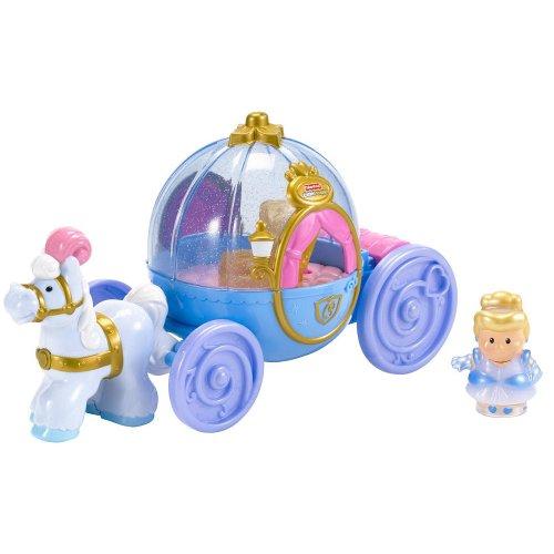 Fisher-price Little People Disney Cinderella's Coach - TRU