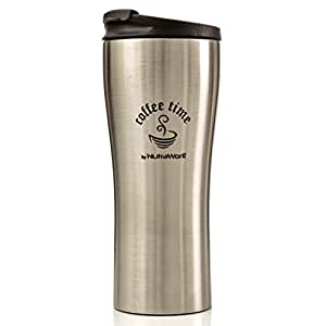 Amazon Com Nutrawork Best Travel Coffee Mug Double Wall