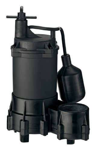 Flotec FPSE2800A 1/3 HP Submersible Sump Pump - Flotec Submersible Sump Pump