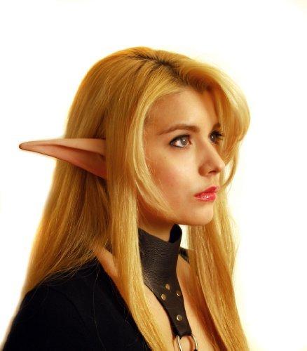 Aradani Costumes Anime Elf Ears (Aradani Costumes Large MANGA Anime Elf Ear - Ear Tips by Aradani Costumes)