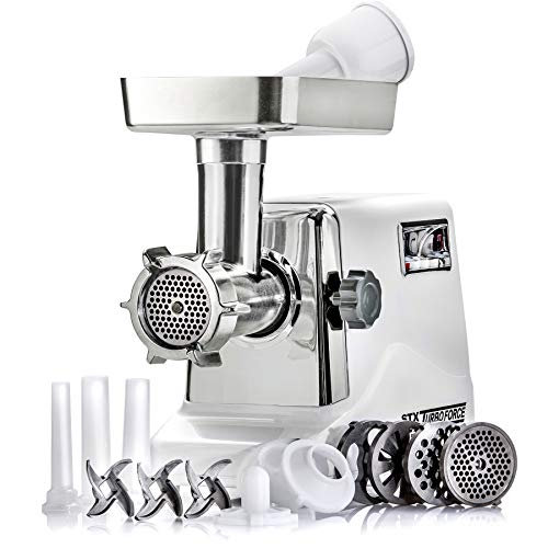 STX International STX-3000-TF Turboforce 3 Speed Electric Meat Grinder & Sausage...
