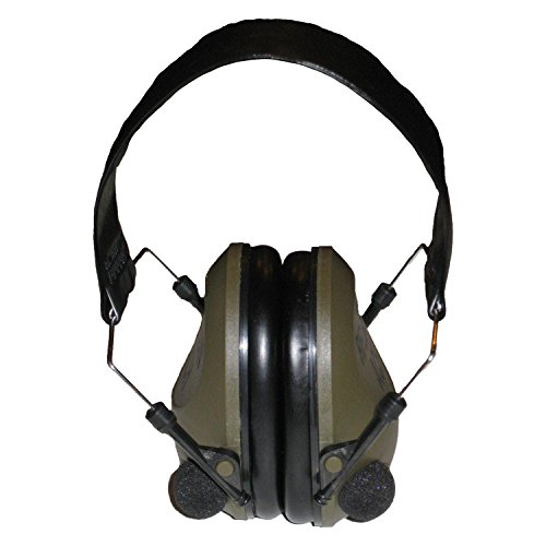 Rifleman Sound Amplification and Suppression Electronic Hearing Protection Earmuffs for Shooting & Hunting by Rifleman
