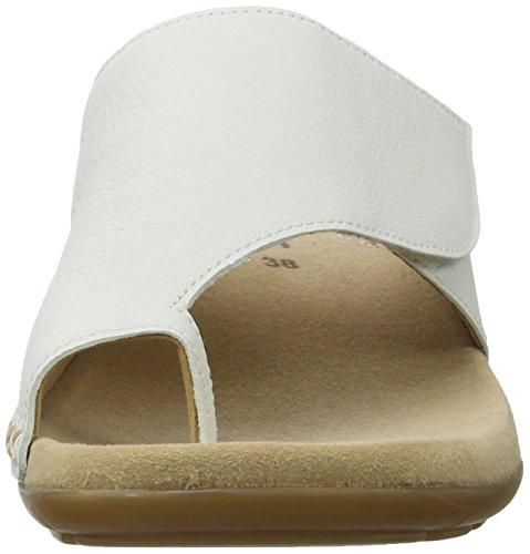 Shoes Femme Gabor Blanc 21 Weiss Fashion Mules vwOdRq