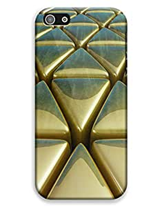 Golden Triangles Case for your iPhone 5C