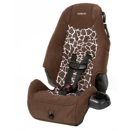 Cosco High-Back Booster Car Seat | 5-Point Harness with U...
