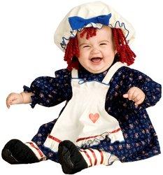 [Yarn Babies Ragamuffin Dolly Infant / Toddler Costume - Toddler (2-4T) PROD-ID : 1438846] (Ragamuffin Costume)